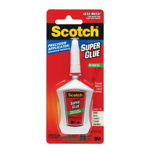 Scotch Super Glue with Precision Applicator, 0.14 oz