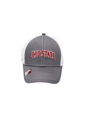 25adfc9b2b48a Product Image NCAA Collegiate Headwear Men s Hat Ohio State Buckeyes  Embroidered Grey Ghost Mesh Back Cap