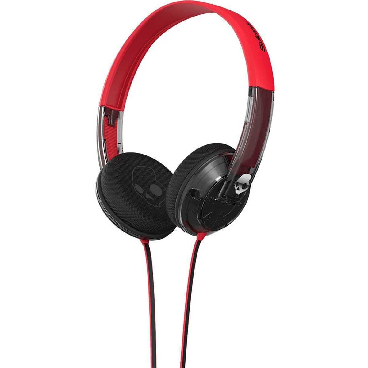 Skullcandy Uprock Headphones with Mic Spaced Out/Clear/Chrome, One Size