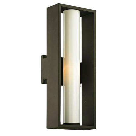 Troy Lighting  Mondrian 1-light Textured Bronze Medium Outdoor Wall (Troy Lighting Outdoor Lamp)