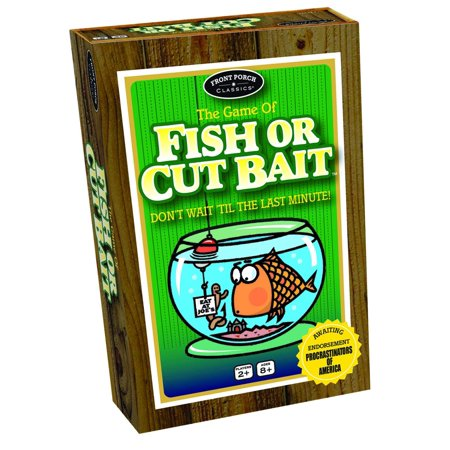 Fish or Cut Bait, Try to catch more fish than the other players do, with the Fish or Cut Bait dice game from Front Porch Classics By Front Porch Classics ()