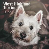 West Highland Terrier Calendar 2022 - West Highland Terrier Dog Breed Calendar - West Highland Terriers Premium Wall Calendar 2022