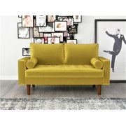 US Pride Furniture Mac Velvet Loveseat