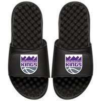 Sacramento Kings Youth Primary iSlide Sandals - Black