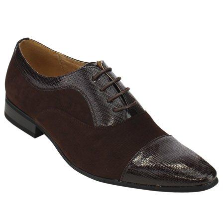 UV SIGNATURE FC81 Men s Lace Up Cap Toe Slip On Oxford Dress Shoes ... b51fa53845e
