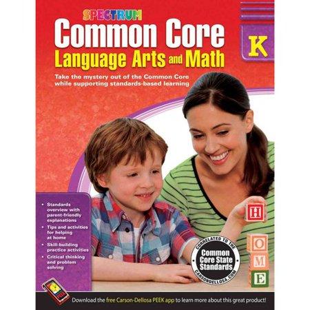 Common Core Math And Language Arts  Grade K