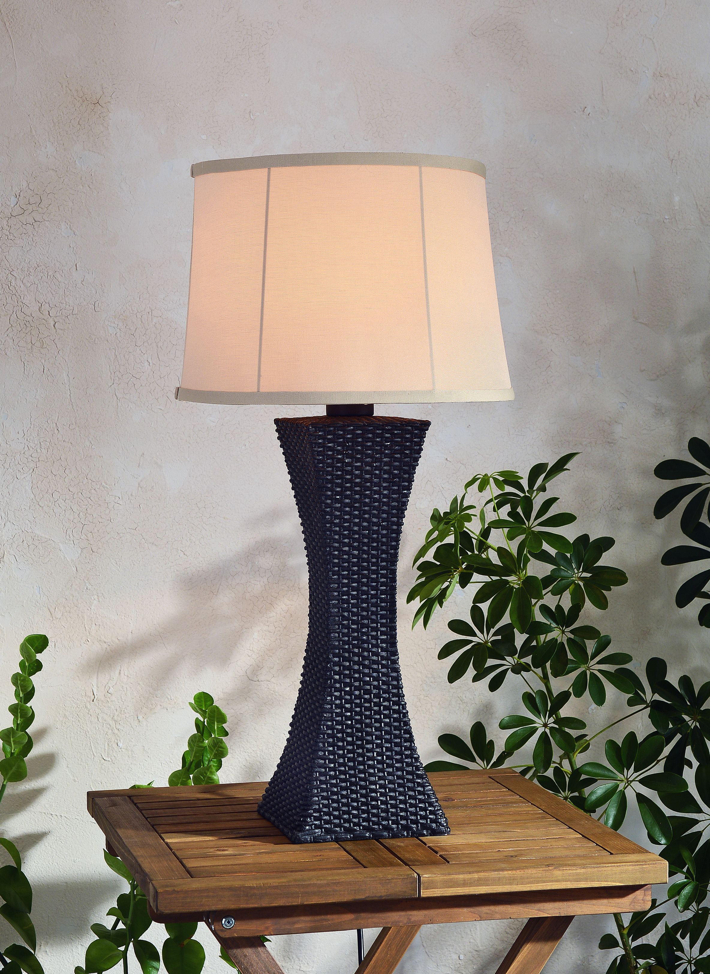 Kenroy Home Contemporary All-Weather Outdoor Tall Table Lamp, 30