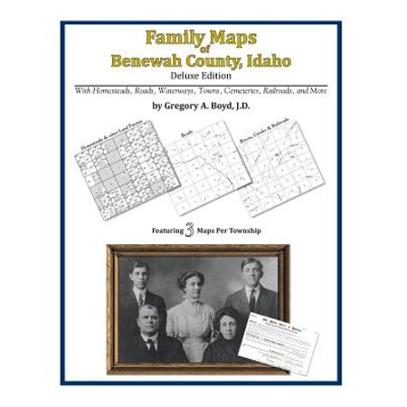 Family Maps of Benewah County, Idaho