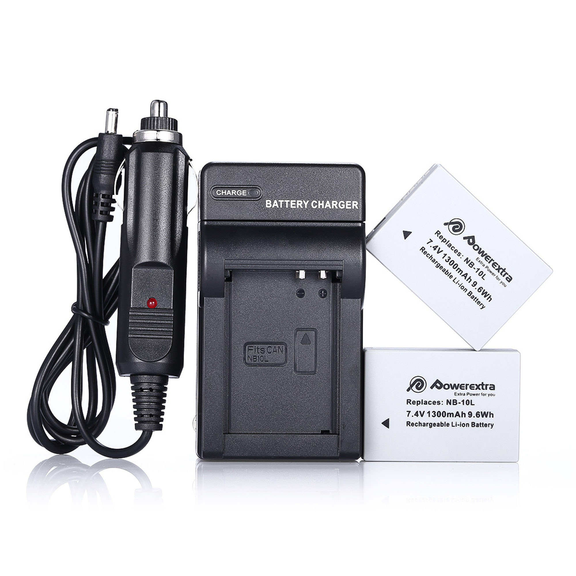 with Charger Canon Powershot SX10 IS Digital Camera Battery Charger Replacement for 4 AA NiMH 2800mAh Rechargeable Batteries