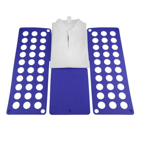NOBRAND Blue Adult Dress T-Shirt Clothes Flip & Fold Folder Board Laundry Organizer ()