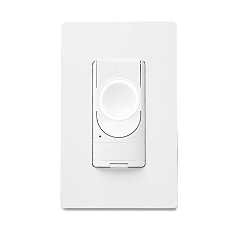GE Lighting 48733 C by GE Smart Motion-Sensing Dimmer Switch with Occupancy Sensor, White Decora Motion Sensor Occupancy Switch