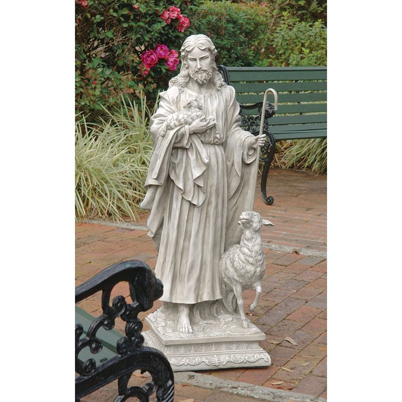 Design Toscano Jesus The Good Shepherd Garden Statue by Design Toscano