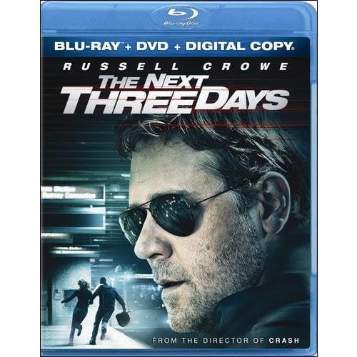The Next Three Days (Blu-ray + DVD + Digital HD) (With INSTAWATCH)