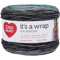 Red Heart It's A Wrap Rainbow Yarn-Couture