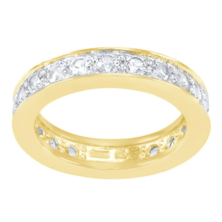 wedding gold collection band dazzlingrock com size dp blue anniversary amazon bands stackable white sapphire round diamond