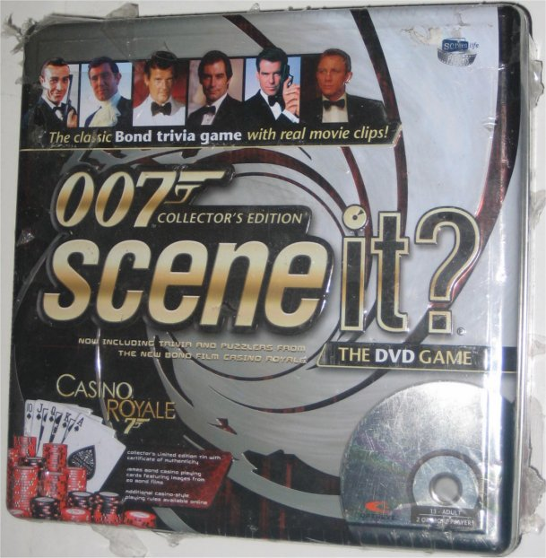 007 Collector's Edition Scene It? DVD Board Game (Casino ...
