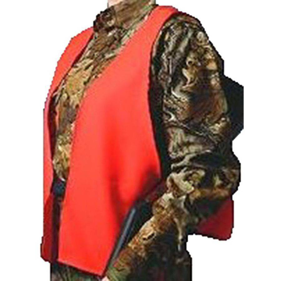 Hunters Specialties Super Quiet Safety Vest, Orange, One Size Fits All Neoprene