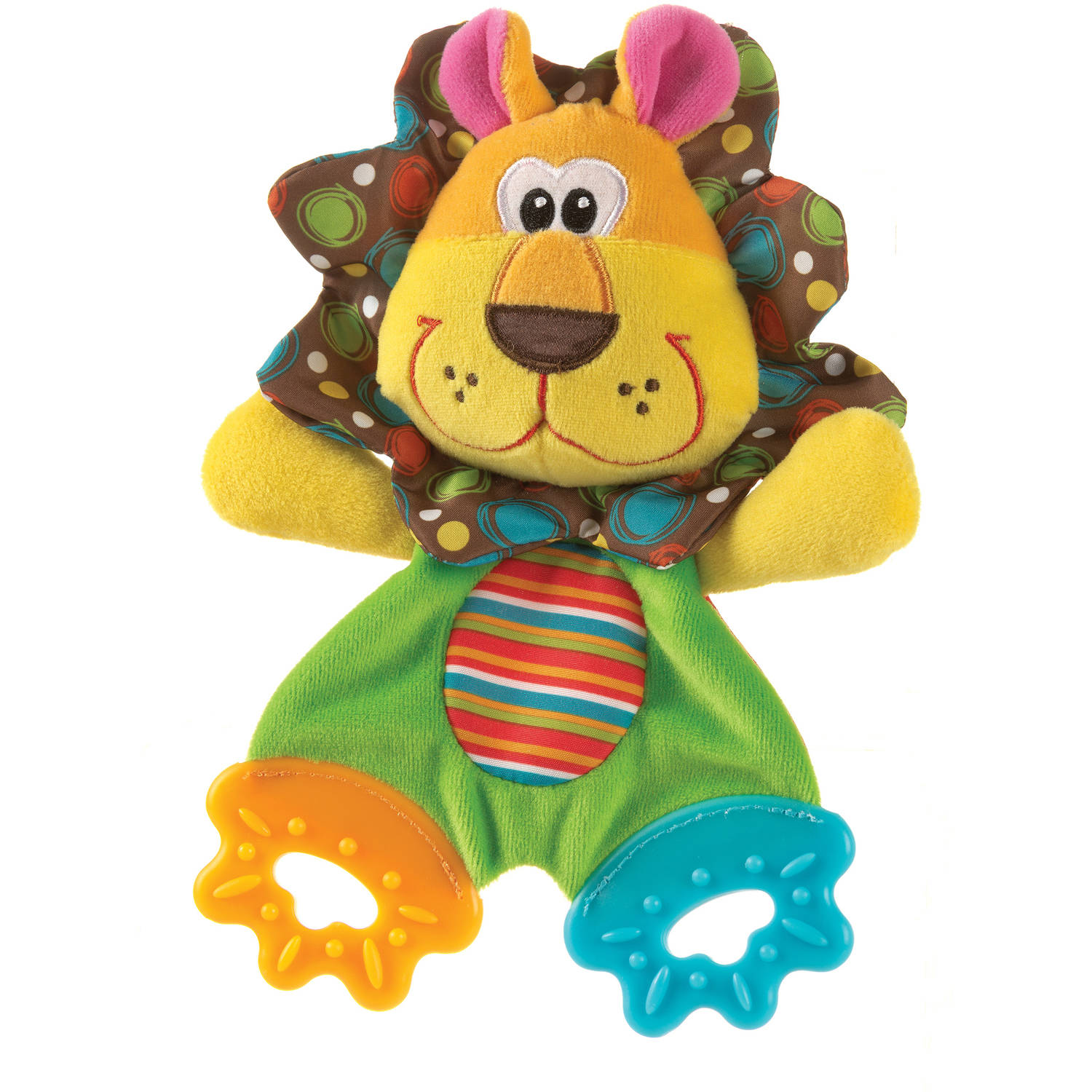 Playgro Teething Blankie, Roary Lion