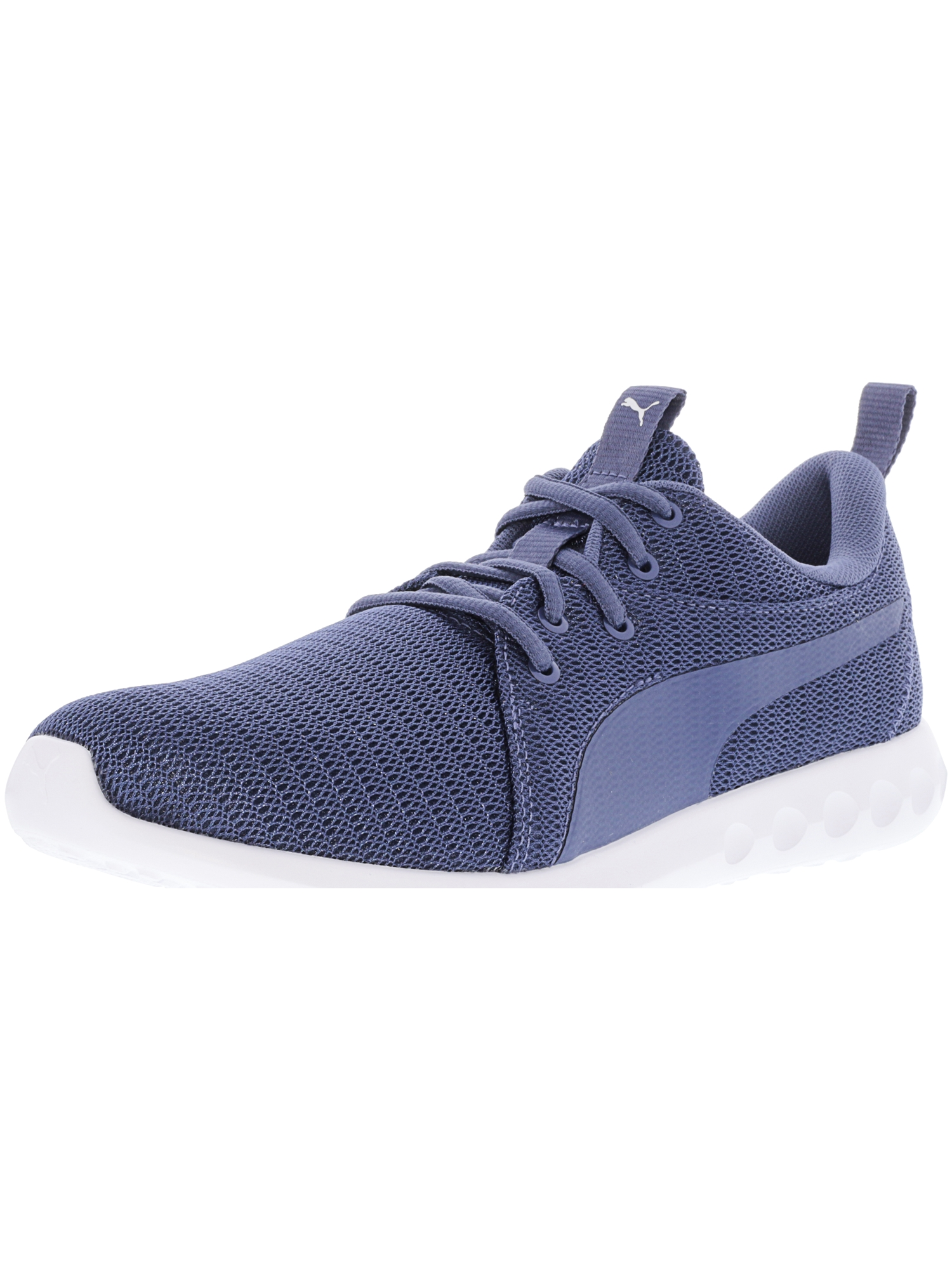 Puma Women's Carson 2 Blue Indigo Ankle-High Fabric Running Shoe - 8.5M