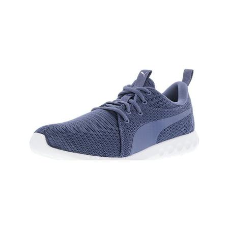 b1f8d54a0d Puma Women's Carson 2 Blue Indigo Ankle-High Fabric Running Shoe ...