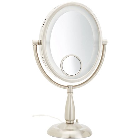 Hl9510n 8 Inch X 10 Inch Oval Lighted Vanity Mirror With
