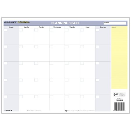 at a glance wall calendar 2017 erasable monthly yearly