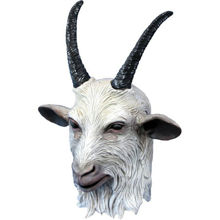 Suicide Squad: Goat Overhead Deluxe Adult Mask, Halloween Accessory](Goat Head Mask)