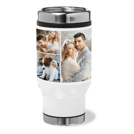 Stainless Steel Collage Tumbler, 14 oz