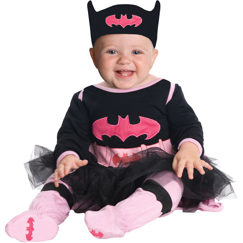 Batgirl Infant Girls Onsie Halloween Costume