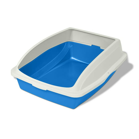 Van Ness Cat Litter Box With Rim, Color May Vary
