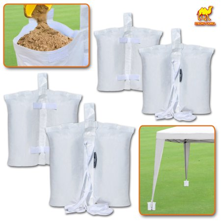 Strong Camel Weights Bag Leg Weight For Pop Up Canopy Tent Sand 4 Pack