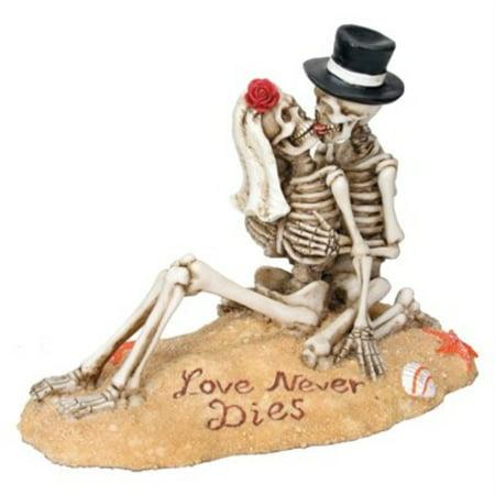 Skeleton Couple Beach Lovers Dia de los Muertos Day of the Dead - Decorations For Dia De Los Muertos