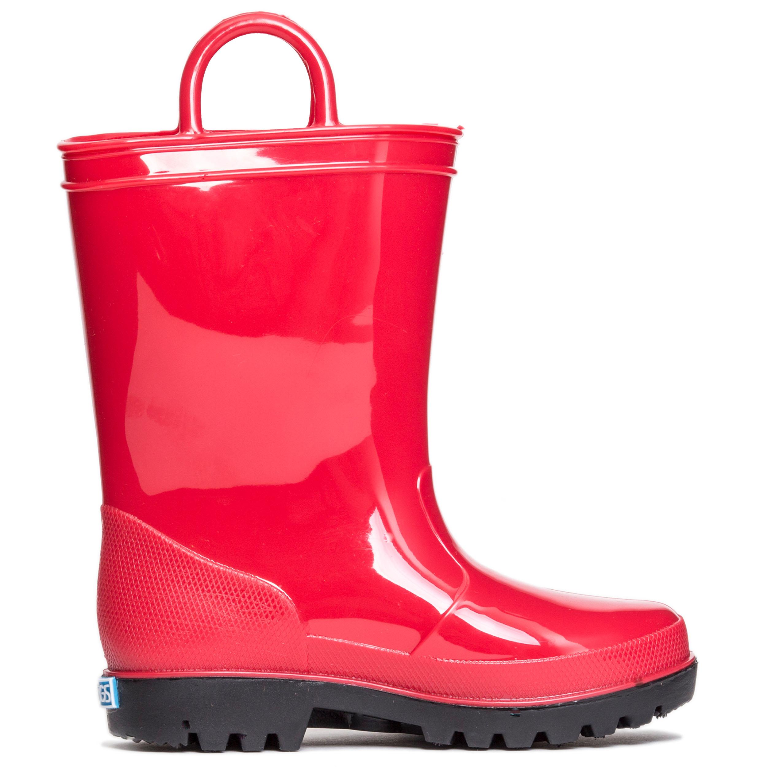 ZOOGS Kids Waterproof Rain Boots for