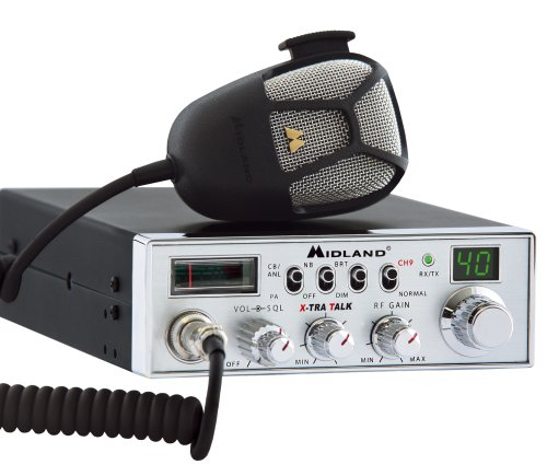 Midland 5001Z 40-Channel Mobile CB with Switchable Noise Filter by Midland