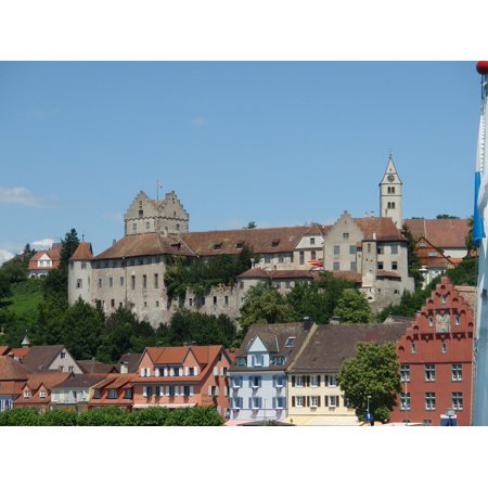 LAMINATED POSTER Winery Fortress City Castle View Meersburg Poster Print 24 x 36 - Halloween City Winery