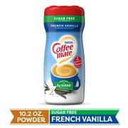 COFFEE MATE Sugar Free French Vanilla Powder Coffee Creamer 10.2 Oz. Canister   Non-dairy, Lactose Free, Gluten Free Creamer (3 Pack)