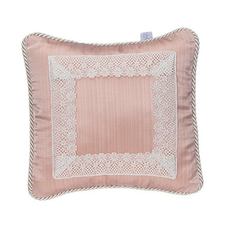 Glenna Jean Maddie Pillow, Pink with Lace