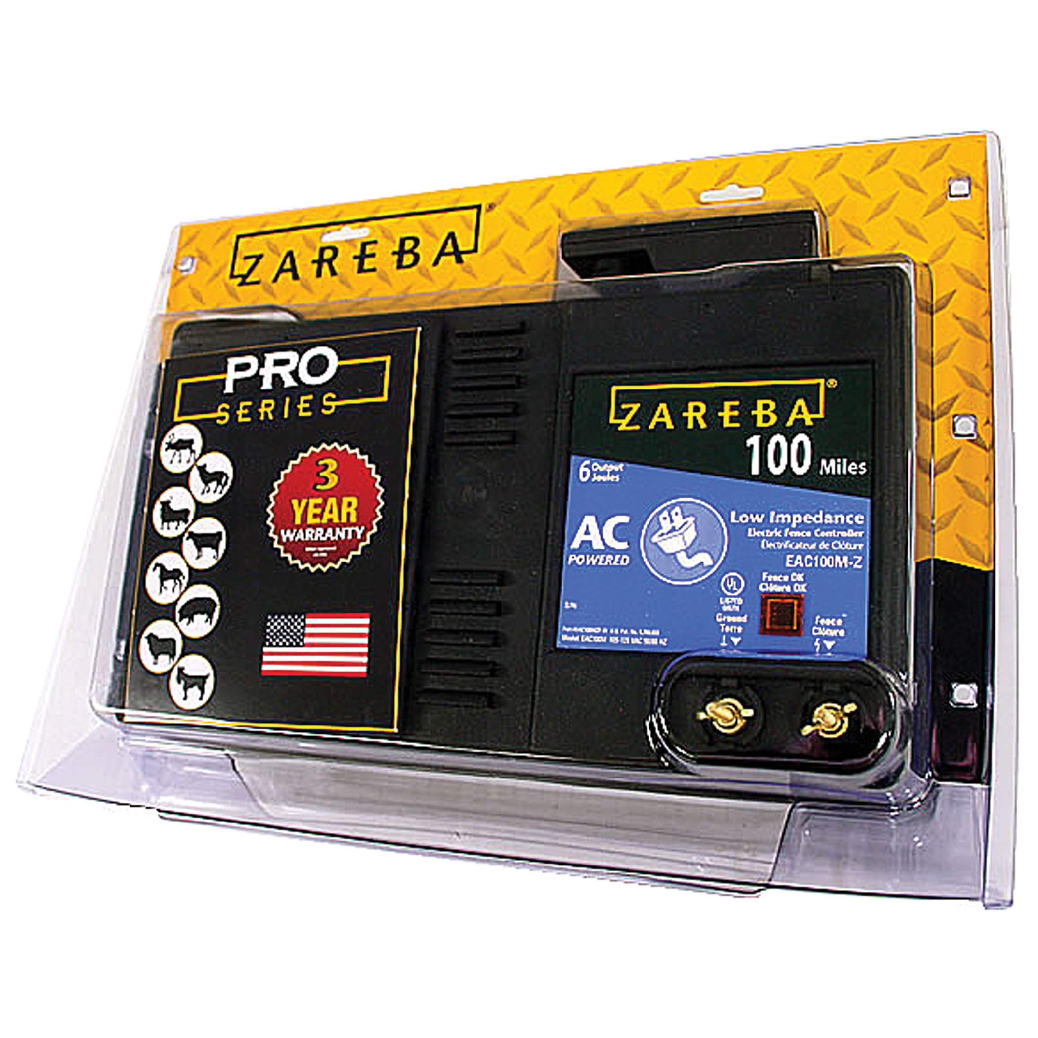 Woodstream ZAREBA AC LOW IMPEDANCE ELECTRIC FENCE CHARGER