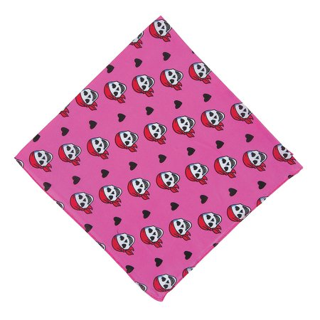 Fun Express - Pink Pirate Girl Bandanna Pink 1pc for Birthday - Apparel Accessories - Hats - Bandannas - Birthday - 1 Piece - Express Girl
