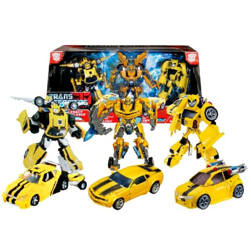 Hasbro Year 2008 Transformers Exclusive Series 3 Pack Set...