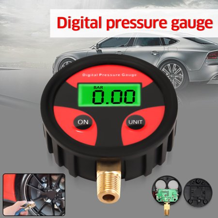 0-200PSI Digital Air Pressure Tyre Tire Gauge LCD Manometer Car Truck MotorBike - image 7 de 7