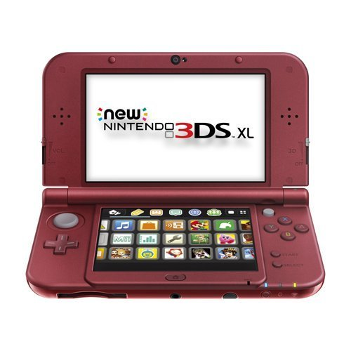 Refurbished Nintendo New 3DS XL Red By Nintendo