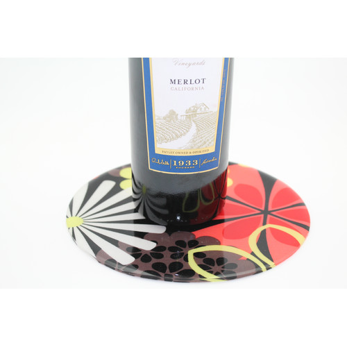 Andreas Silicone Trivets Metro Flower Trivet by