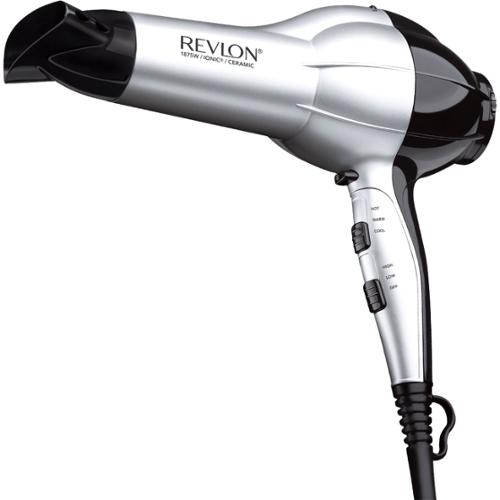 Revlon RV484 Ion Hair Dryer - 1875 W - Handheld - AC Supply Powered