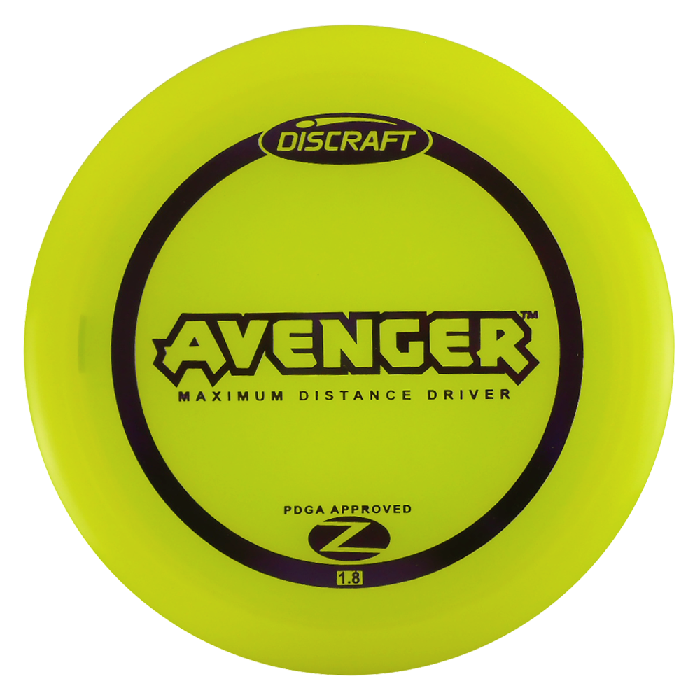 Discraft Elite Z Avenger 160-166g Distance Driver Golf Disc [Colors may vary] - 160-166g