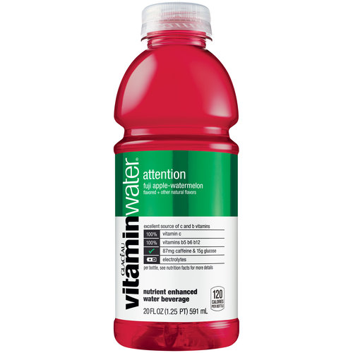 Energy Brands Vitaminwater  Water Beverage, 20 oz