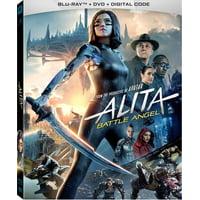 Alita: Battle Angel (Blu-ray + DVD + Digital Copy)
