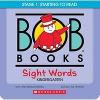 Bob Books: Sight Words Kindergarten (Paperback)