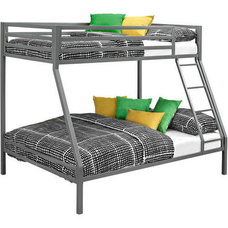 Mainstays Premium twin-over-full bunk bed, Multiple Colors with 2 Mainstays