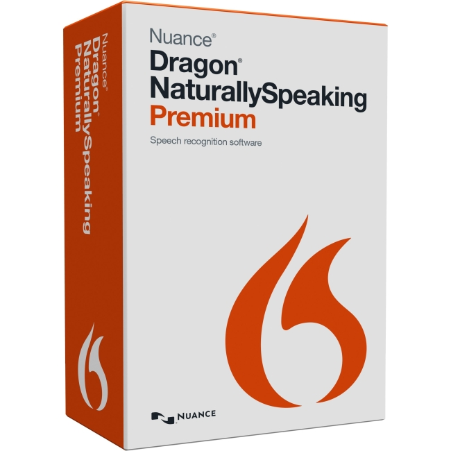 Nuance K609A-S00-13.0 Dragon NaturallySpeaking v.13.0 Premium - 1 User - Voice Recognition - Local Government, State Government Box - DVD-ROM - PC - English